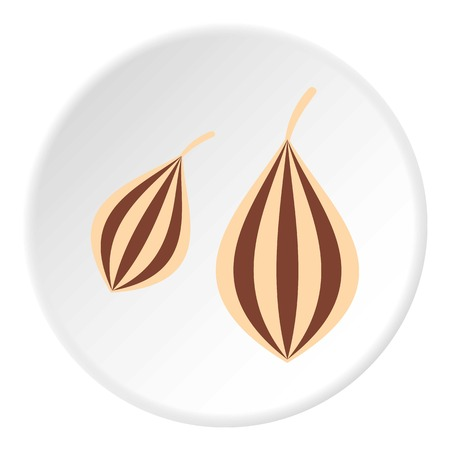 Ajwain icon circle Illustration
