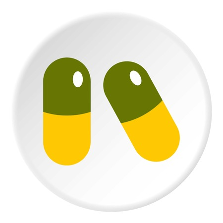 Pills icon circle