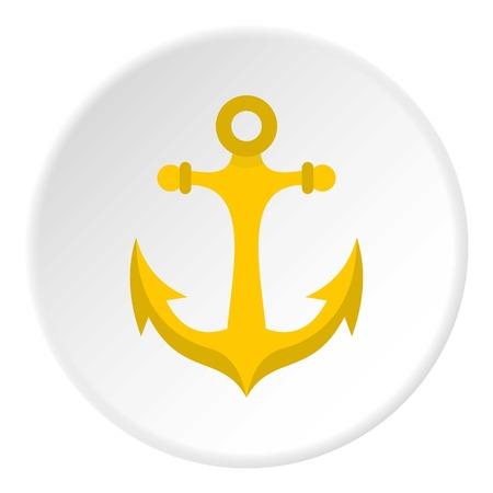 Anchor icon circle