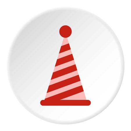 Party hat icon circle