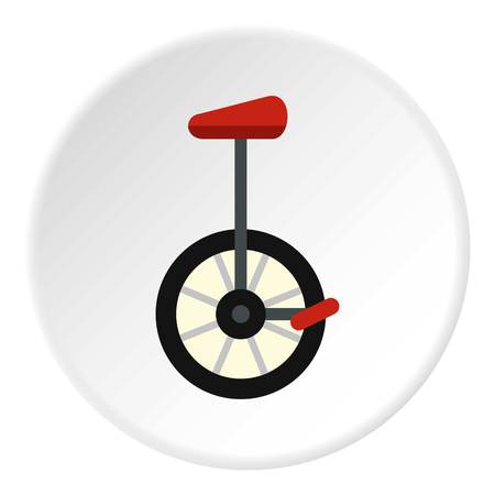 Unicycle icon circle Illustration