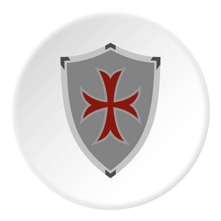 rivets: Protective shield icon circle