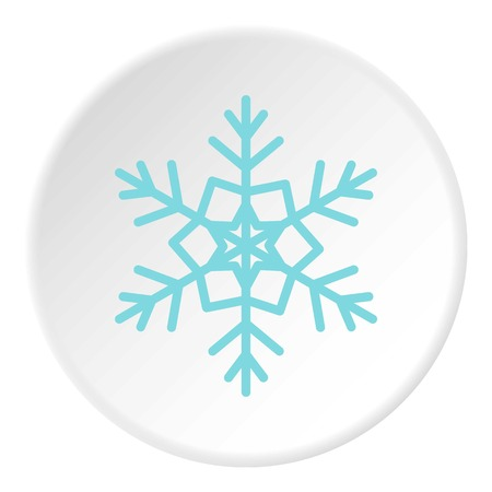 freeze: Snowflake icon circle