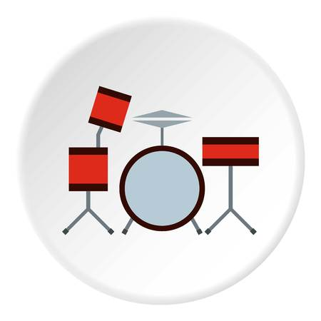 Drums icon circle