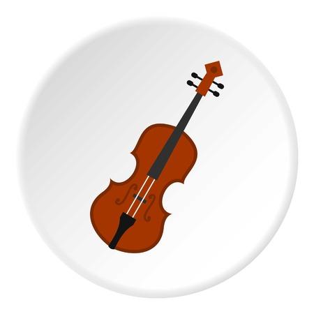 Cello icon circle