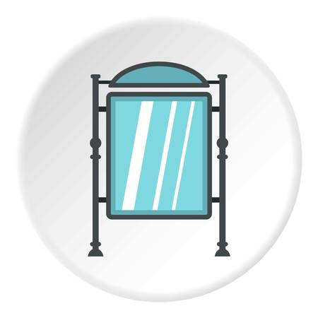 announce: Advertising sign icon circle
