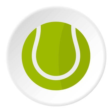 bounce: Tennis ball icon circle