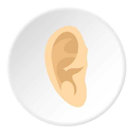 Ear icon circle