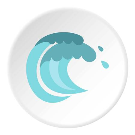 tenth: Tenth wave icon circle