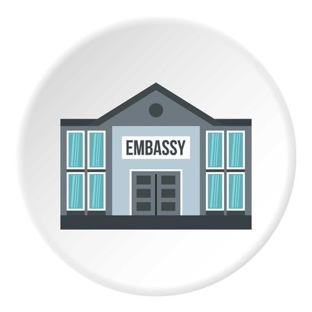 대사관 아이콘 원 스톡 콘텐츠 - 81389545