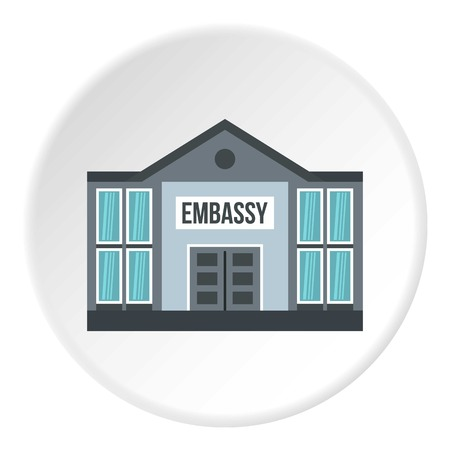 Embassy icon circle