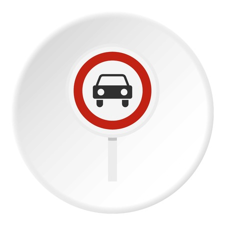 prohibiting: Movement of motor vehicles is forbidden icon