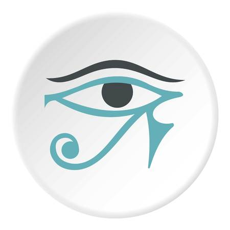 Eye of Horus icon circle