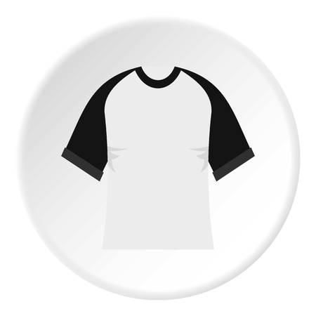 Baseball shirt icon circle Illustration