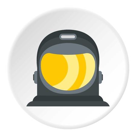 meteorite: Astronaut icon circle