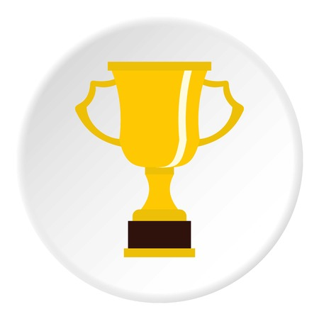 superstar: Cup for win icon circle