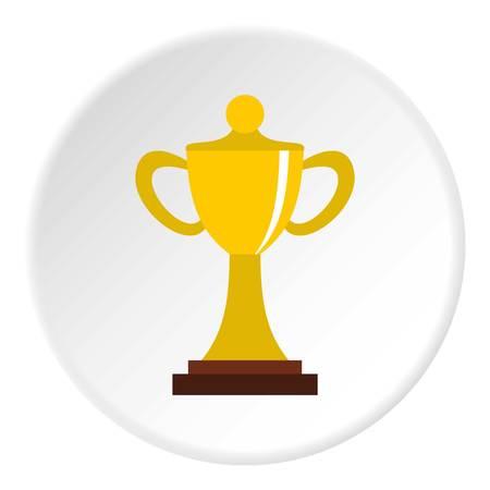quality guarantee: Championship cup icon circle