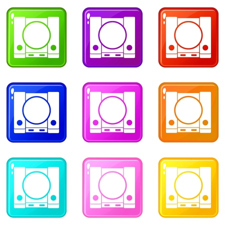PlayStation icons 9 set