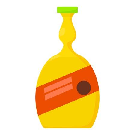 hard: Cocktail icon, cartoon style