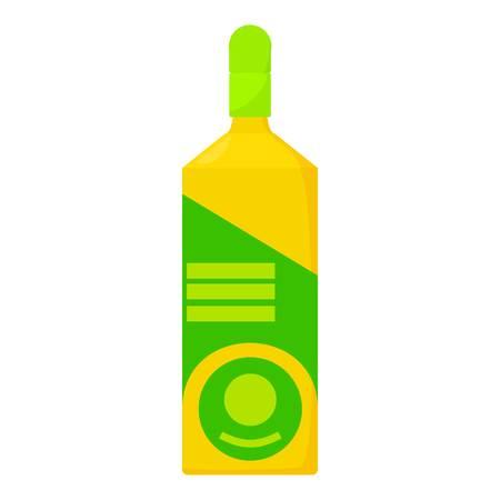 Vodka icon, cartoon style Illustration