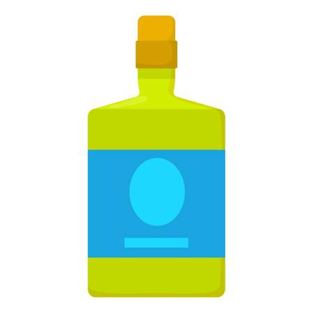 rum: Cocktail  icon, cartoon style
