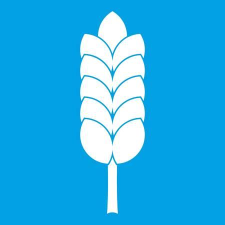 Big spica icon white Illustration