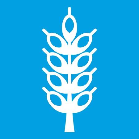 grain: Big spike icon white