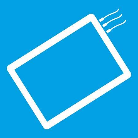 One phone icon white