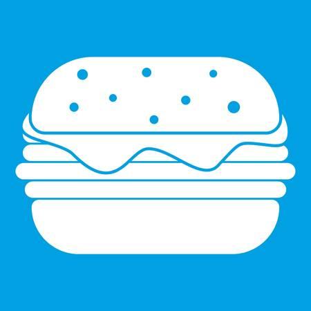 sesame: Hamburger icon white