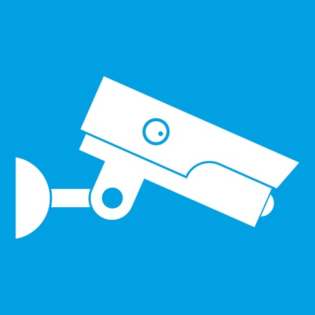Security camera icon white