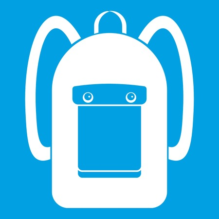 Backpack icon white