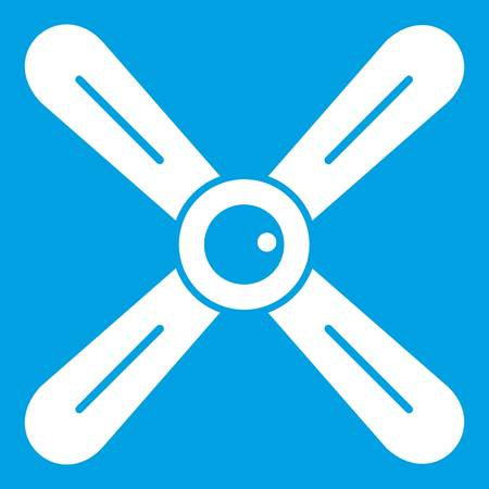 Propeller icon white