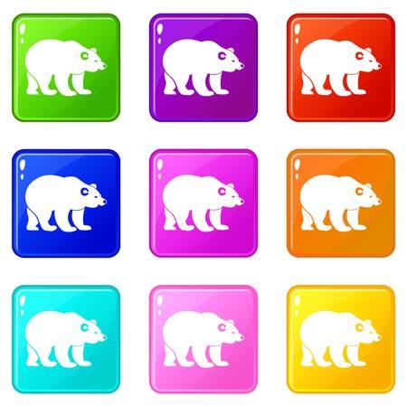 Bear set 9