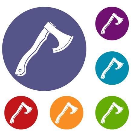 hatchet: Hatchet icons set