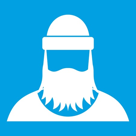 Lumberjack icon white