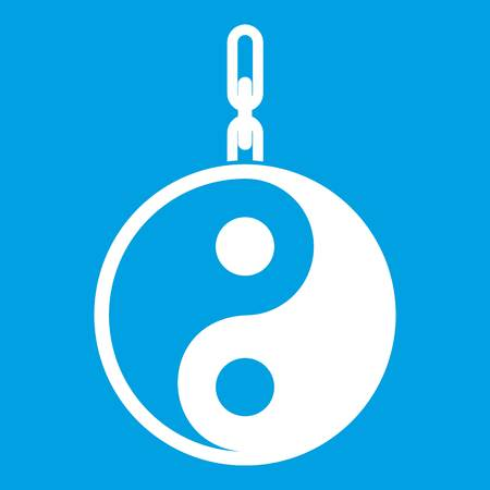 Sign yin yang icon