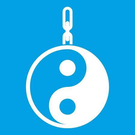 Sign yin yang icon