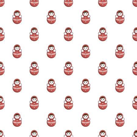 Red tumbler doll pattern