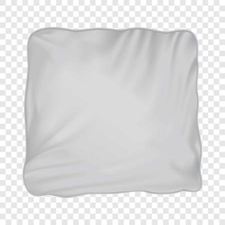 Pillow mockup, realistic style Illustration