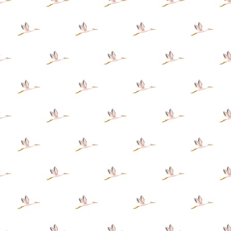 Stork pattern seamless