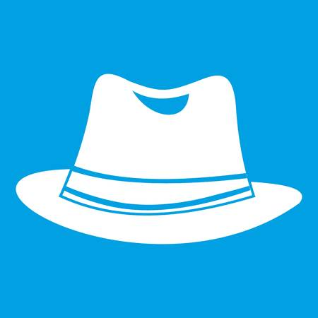 Hat icon white