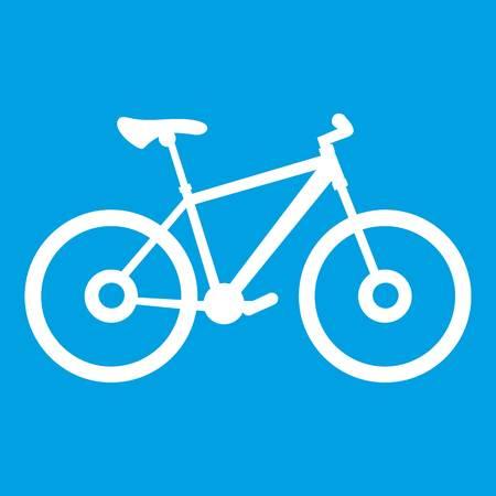 Bike icon white