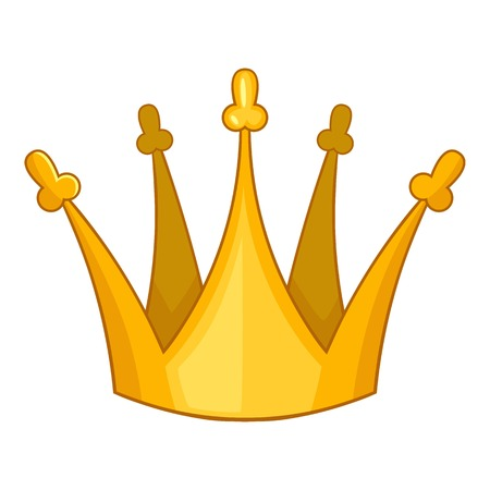 Son of king crown icon. Cartoon illustration of son of king crown vector icon for web design Illustration