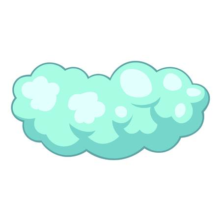 Medium cloud icon, cartoon style