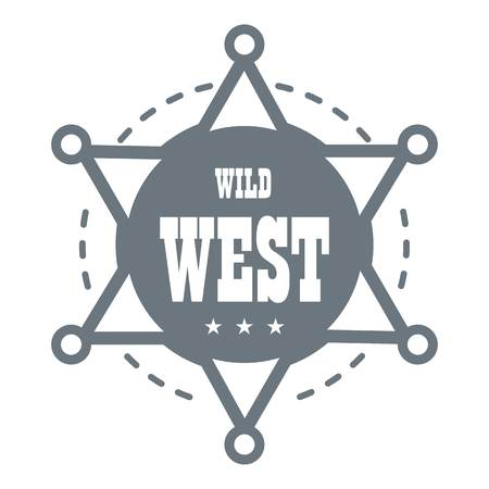 Wild west. Simple illustration of wild west vector for web design