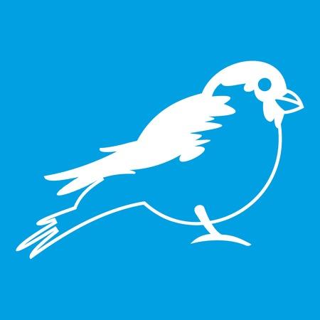 Bullfinch icon white
