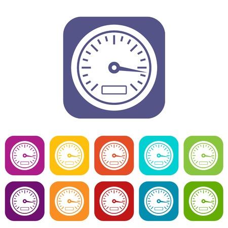 dashboard: Speedometer icons set