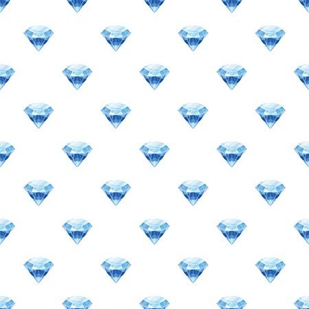 cutting: Diamond pattern seamless Illustration