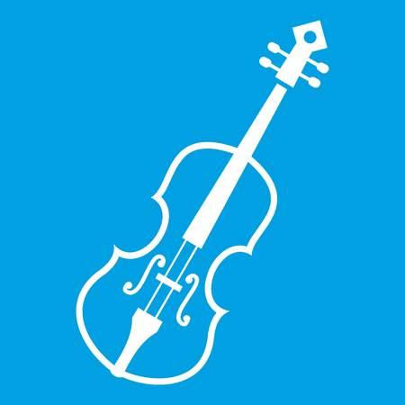 Cello icon white