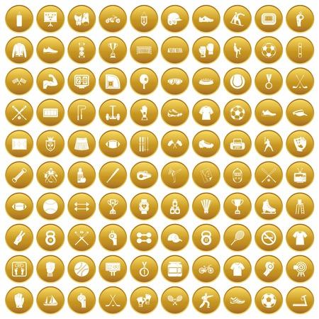100 atleetpictogrammen geplaatst goud